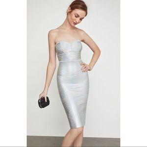 ✨NWT BCBG Holographic Dress